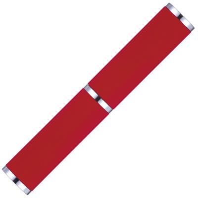 Picture of DART SOFT FEEL STYLUS BALL PEN in Red