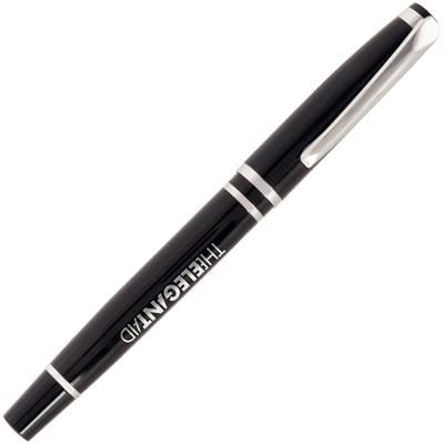 Picture of VALENTINO NOIR METAL ROLLERBALL PEN in Black