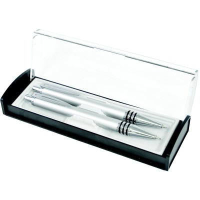 Picture of LEIGH PEN GIFT BOX in Clear Transparent