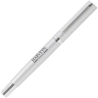 Picture of AMBASSADOR METAL ROLLERBALL PEN in Silver