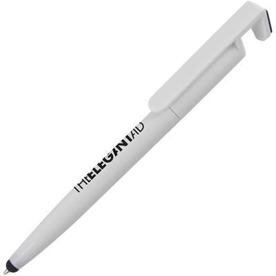Picture of PHONE- UP BALL PEN in White Black Ink