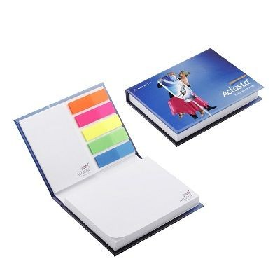 Picture of ADHESIVE NOTE COMBI PAD SET in Hard Cover