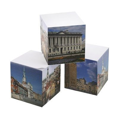 Picture of ADHESIVE NOTE CUBE