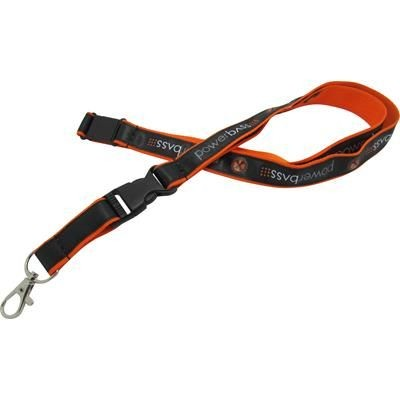 Picture of 15MM SATIN APPLIQUE LANYARD