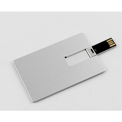 Picture of METAL CREDIT CARD USB MEMORY STICK