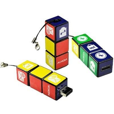 Picture of NOVELTY RUBIKS CUBE USB FLASH DRIVE
