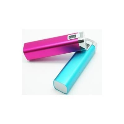 Picture of ALUMINIUM METAL CUBOID POWERBANK with Digital Charger Indicator