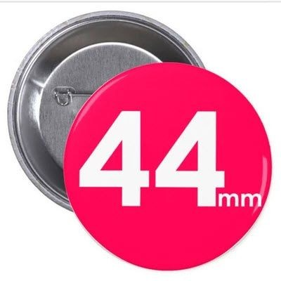 Picture of 44MM BUTTON BADGE