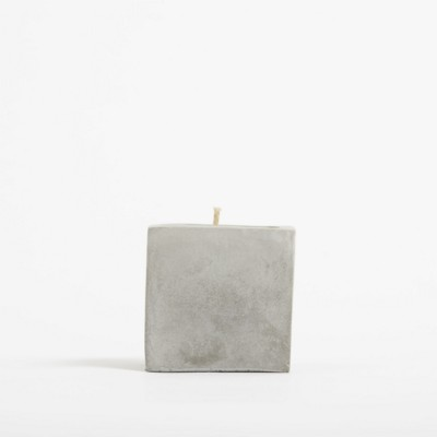 Picture of SMALL CONCRETE CANDLE- ROCK