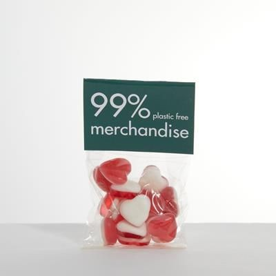 Picture of HEADER SWEETS BAG - HARIBO HEARTS