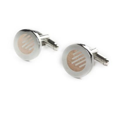 Picture of CUFF LINKS with Laser Engraving