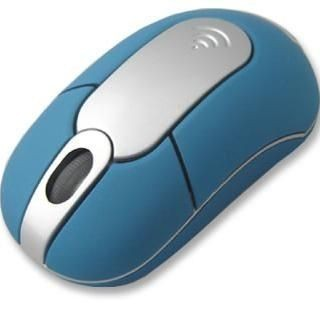 Picture of USB CORDLESS OPTICAL COMPUTER MOUSE in Blue