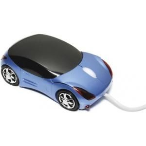Picture of CAR SHAPE USB OPTICAL COMPUTER MOUSE in Blue