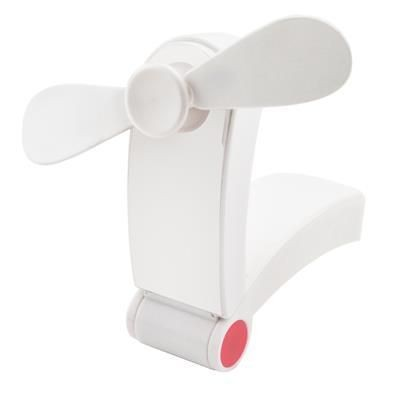Picture of SMART PORTABLE MINI FAN in White