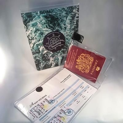 Picture of FULL COLOUR DIGITAL PRINTED PVC TRAVEL DOCUMENT HOLDER