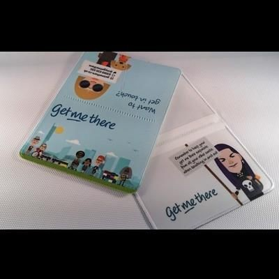 Picture of FULL COLOUR DIGITAL PRINTED PVC BUS PASS HOLDER