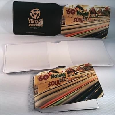 Picture of FULL COLOUR DIGITAL PRINTED PVC STANDARD OYSTER STYLE CARD HOLDER