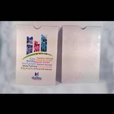 Picture of FULL COLOUR DIGITAL PRINTED PVC BUILDING SOCIETY PASS BOOK COVER