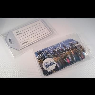 Picture of FULL COLOUR DIGITAL PRINTED PVC LUGGAGE TAG