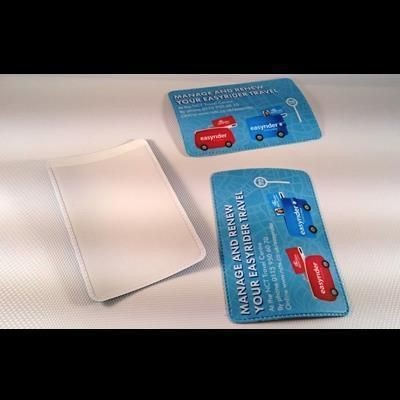 Picture of FULL COLOUR DIGITAL PRINTED PVC SINGLE TRAVEL CARD HOLDER