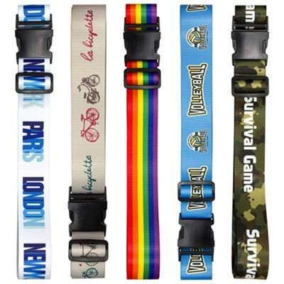 Picture of PRINTED LUGGAGE BELT STRAP