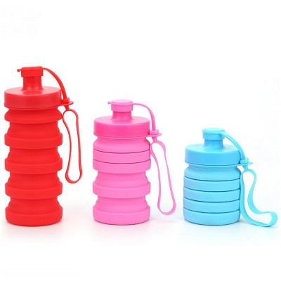 Picture of COLLAPSIBLE FOLDING TOWER WATER BOTTLE