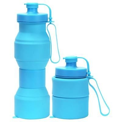 Picture of COLLAPSIBLE FOLDING HOURGLASS WATER BOTTLE