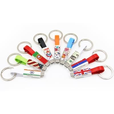 Picture of 3-IN-1 MINI MAGNET SYNC & CHARGER KEYRINGS ADAPTOR CABLE