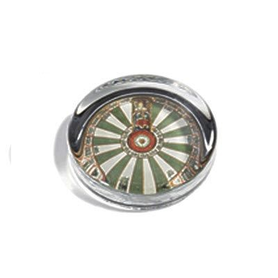 Picture of ROUND GLASS PAPERWEIGHT