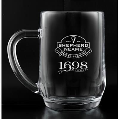 Picture of 1 PINT HAWORTH BEER GLASS TANKARD