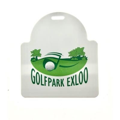 Picture of SUNRISE SHAPE DIGITAL PRINTED GOLF BAG TAG