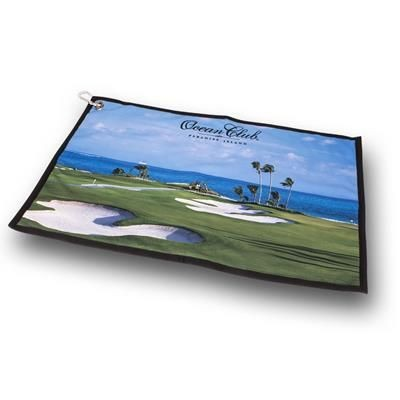 Picture of TUX PANORAMIC GOLF TOWEL