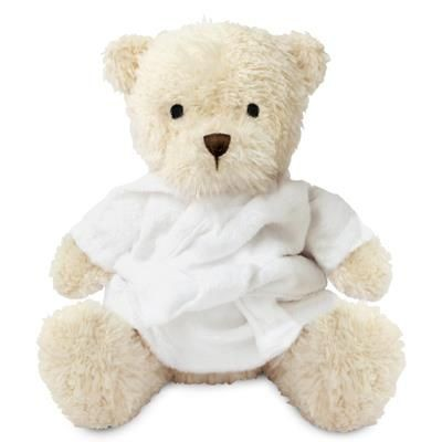 Picture of BLANK PLUSH SOFT TOY JAMES III TEDDY BEAR with Dressing Gown