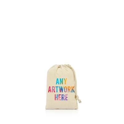 Picture of PRINTED PROMOTIONAL SMALL DRAWSTRING BAG