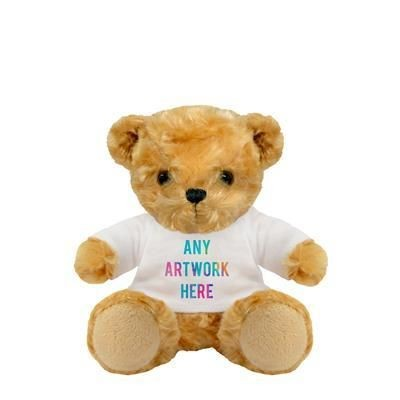 Picture of PLUSH SOFT TOY 13CM VICTORIA TEDDY BEAR