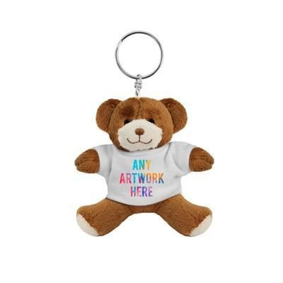 Picture of PLUSH SOFT TOY GEORGE KEYRING TEDDY BEAR