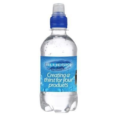 Picture of 330ML PET BOTTLED SPARKLING SPRING WATER