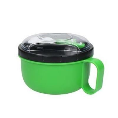 Picture of ROUND LUNCH BOX with Cutlery Urban
