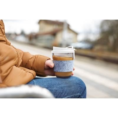 Picture of COFFEE CUP GLASS EFFECT with Sleeve