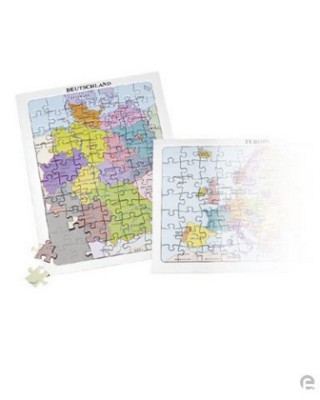Picture of JIGSAW PUZZLE GERMANY AND ITS NEIGHBOURS in Multi Colour