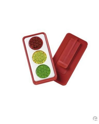 Picture of TRAFFIC LIGHT REFLECTOR in white, black or red