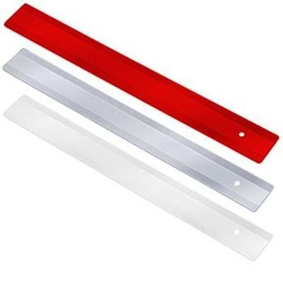 Picture of RULER 30 CM with Moulded-on Millimeter Scale on One Side