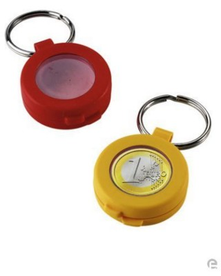 Picture of TROLLEY COIN HOLDER KEYRING