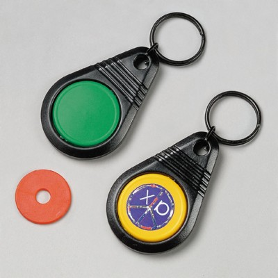 Picture of SHOPPING TROLLEY COIN KEYRING
