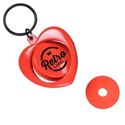 Picture of ROTATING KEYRING HEART