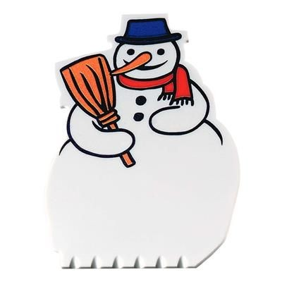 Picture of ICE SCRAPER SNOWMAN DIMENSIONS (MM) 132 X 90 X 3