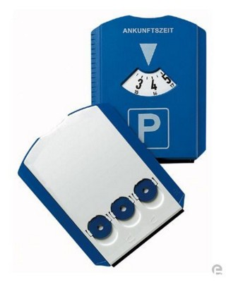 Picture of ROUND PARKING ROUND DISC & ICE SCRAPER in Blue
