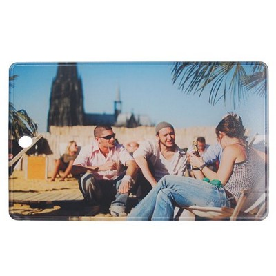 Picture of IMOULD BRANDED PLASTIC CHOPPING BOARD in Clear Transparent
