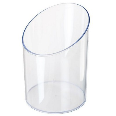 Picture of ACRYLIC ROUND COLLECTORS BOX in Clear Transparent