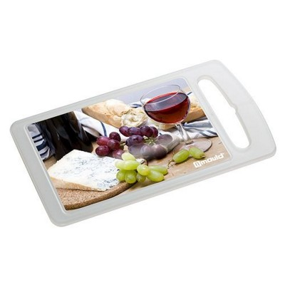 Picture of IMOULD BRANDED CUTTING CHOPPING BOARD in Clear Transparent